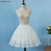 e29d9d7e5817 White 2 Hoops Lolita Petticoat Rockabilly Short Petticoats For Wedding  Underskirt Crinoline Woman Hoop Skirt. Branco 2 Lolita Rockabilly Anágua  Aros Anáguas ...
