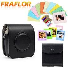 Camera-Bag Pouch-Accessories Protective-Case-Cover Shoulder-Strap Fujifilm Instax Spuare-Sq10/sq20