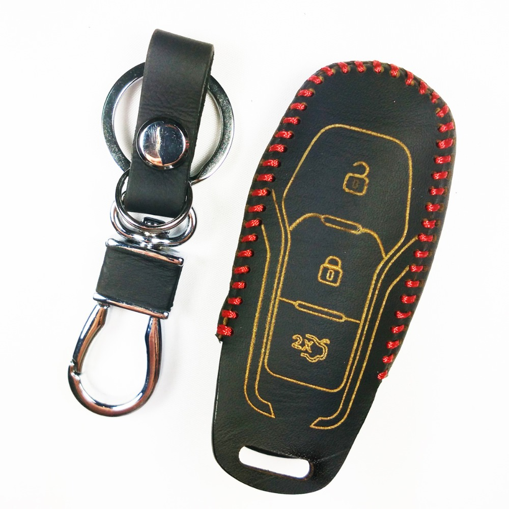 Gift New With Retail BOX 3BINs Leather Smart Car Key Case Cover holder For Ford Mondeo  sc 1 st  AliExpress.com & Compare Prices on New Ford Mustang Key Cover- Online Shopping/Buy ... markmcfarlin.com