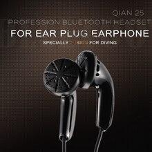 Dynamic Flat Head Plug Earphone 3.5mm In ear