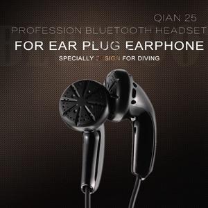 Image 2 - HANGRUI Qian25 HiFi Earphone Dynamic In Ear Earphones with Flat Head Plug Sport headset Bass Earbuds For iphone Xiaomi MP3 MP4