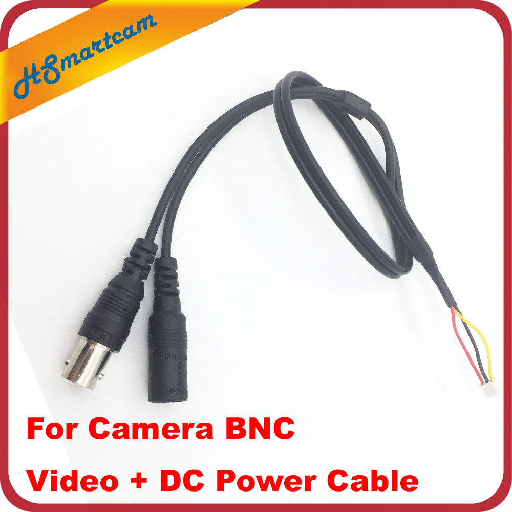 CCTV Security Video Mic Audio FPV Mini Camera + BNC Video + Power Cable CCTV Accessories Metal Mini Box Camera Housing DC 12V