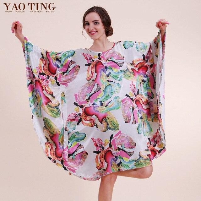 Luxury Women Sleep Shirt Big Plus Size Causal Dolman Sleeve