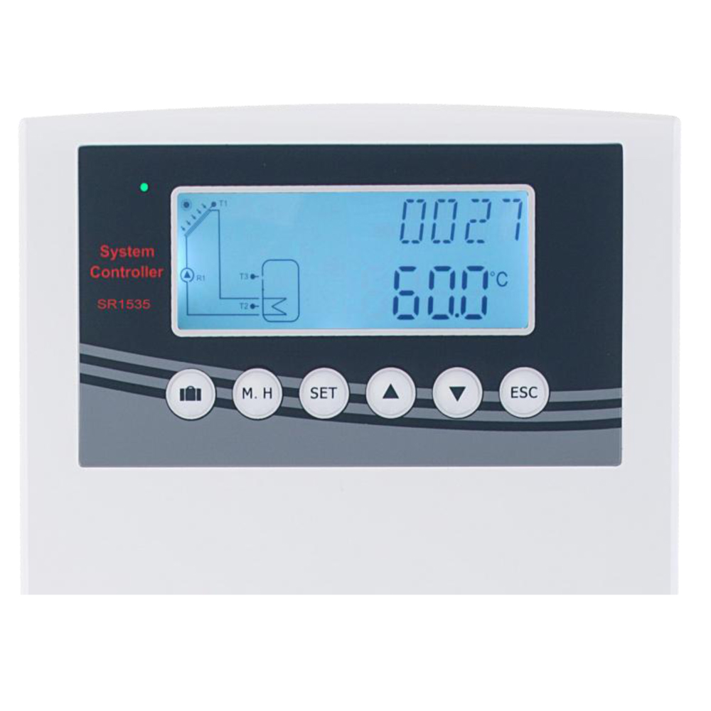 SR1535 Controller for Solar Water Heaters Outdoor use,IP43 Suitable ...