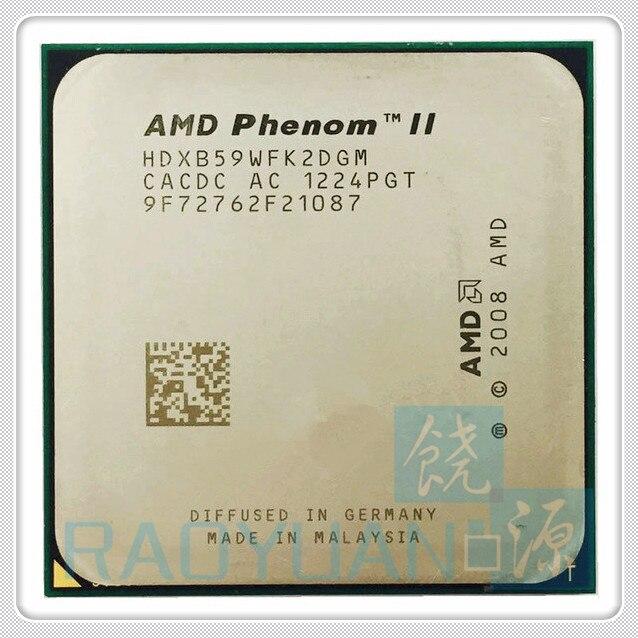 AMD Phenom X2 B59 3.4GHz Dual-Core CPU Processor X2-B59 HDXB59WFK2DGM 80W Socket AM3 938pin
