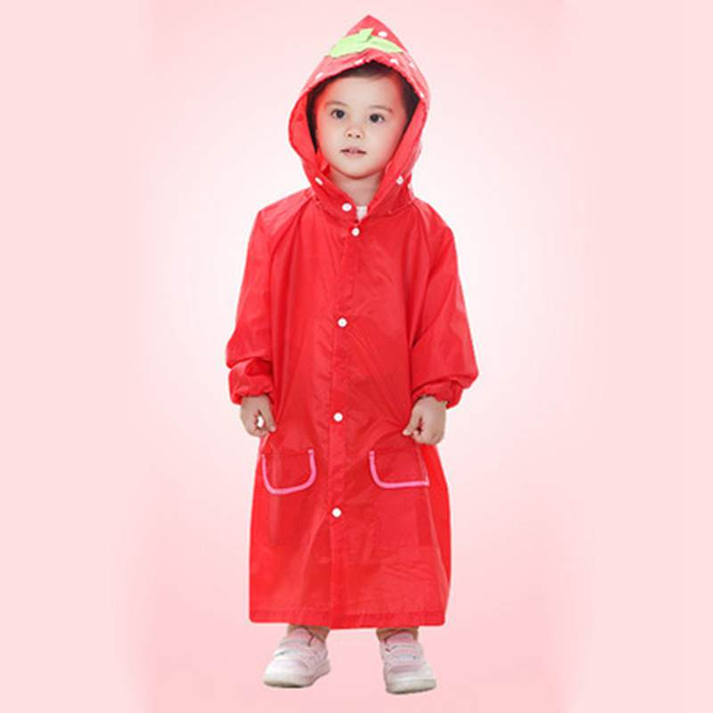 a4e04bc12 US $10.19 14% OFF|Kids girl and boy Favorite Cartoon Raincoat Clothes  fashion breathable waterproof children's baby fall in love with rainy days  -in ...