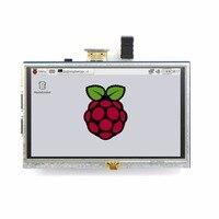 10 Pcs 5 Inch 800x480 Touch LCD Screen 5 Display For Raspberry Pi Pi2 Model B