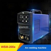 WSM 200a Electric Welding Machine Inverter DC Pulse Industrial Arc Welder Dual purpose Arc Welding Machine 4.5KVA 220Hz 8.4KVA