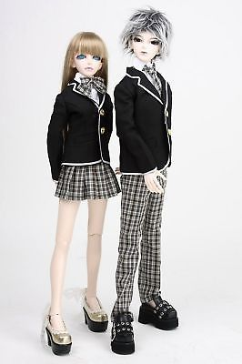[wamami] 300# Boy School Uniform/Suit 1/3 SD BJD Dollfie seitokai no ichizon cosplay school boy uniform h008
