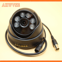 AHWVSE AHD camera 1080P 2.0MP High power 6pcs White IR LEDs 3.6mm Indoor IR Night vision IR filter camera D626 Free Shipping