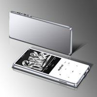 Metal Mp4 Player Ultrathin Built in Speakers Lossless Portable Audio Players FM Radio Ebook Voice Recorder Video player