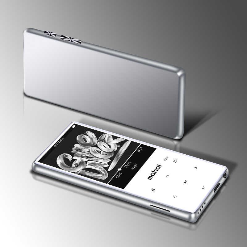 Metalowe Mp4 odtwarzacz ultracienkich wbudowane głośniki bezstratnej przenośne odtwarzacze Audio Radio FM Ebook dyktafon odtwarzacz wideo