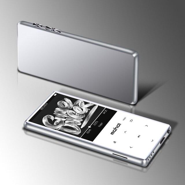 מתכת Mp4 נגן Ultrathin רמקולים מובנים Lossless נייד נגני אודיו FM רדיו ספר אלקטרוני קול מקליט וידאו נגן