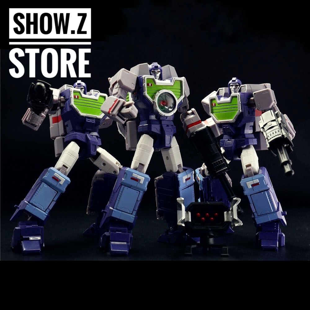 [Show.Z Store] KFC Toys E.A.V.I. Metal Phase 5A Opticlones Reflector Set of 3 Transformation Action Figure