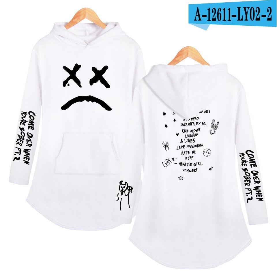 lil peep love Hoodies Sweatshirt Classic K Pop Personality Casual Sport shirt Pocket Summer Autumn Long sleeve Streetwear 24