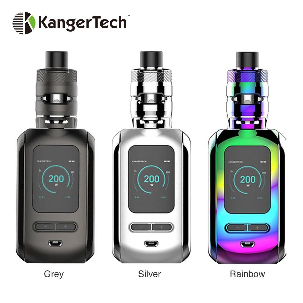 Nouveau Kit de Ranger Kanger Original 200 W boîte MOD Vape avec réservoir de RANGER 3.8 ml et bobines de maille Milli vaporisateur de Cigarette électronique Kangertech