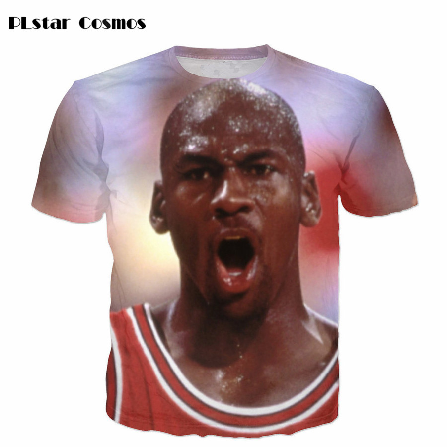 PLstar Cosmos 3D T Shirt Women/Men Short Sleeve Casual T-Shirt Basket ball Blue Sky Printed Tees Funny Clothing Brand Camisetas