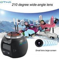 OTHA Mini Waterproof 360 Camera Wifi Action Camera 4k Ultra HD 360 Degree Sport Video Camera