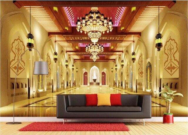 Custom photo 3d room wallpaper Luxury european style buildings ...