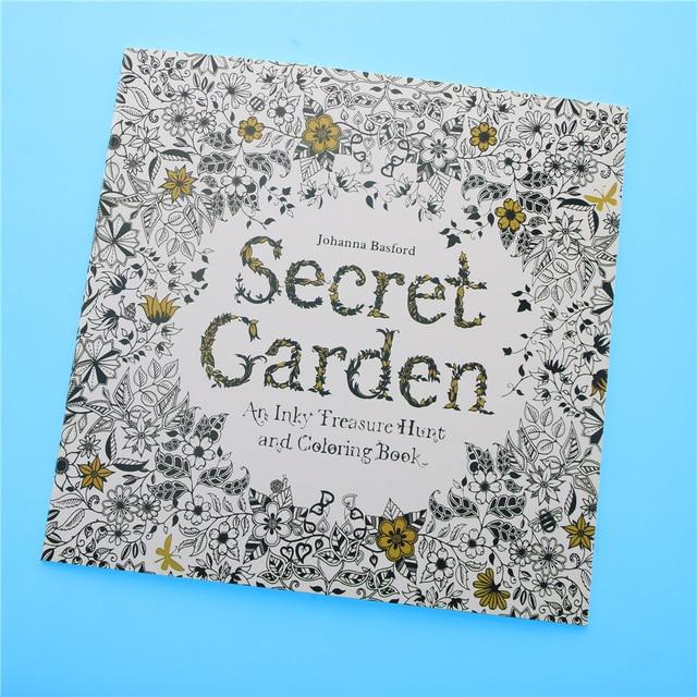 Aliexpress.com: Comprar 24 páginas jardín secreto edición inglesa ...