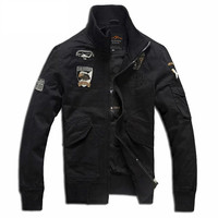 AERONAUTICA MILITARE Coat Italy Brand Jackets Thermal Clothing German Uniform Jacket Army Military Air Force One