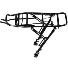 صفقة جيدة سبيكة الخلفي دراجة السلة رف الناقل حقيبة الأمتعة دورة دراجة هوائية جبلية سوداء