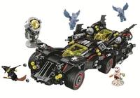 1496pcs Super Heroes Batman Movie The Ultimate Batmobile Set 10740 Model Building Blocks Toys Bricks Moives Compatible legoings