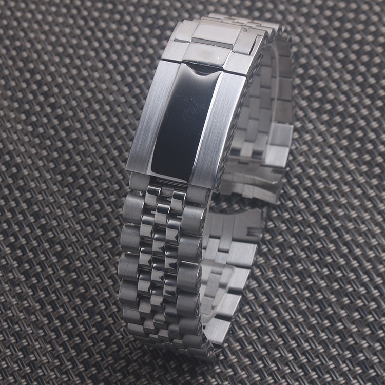 For ROLEX DATE JUST 20mm X 16mm Watch Bracelet Stainless Steel Mens Strap Band