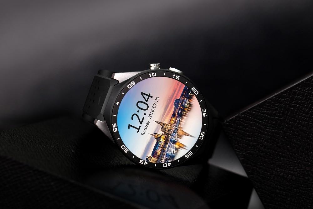 Kingwear kw88 имеют сапфировый амолед экран х smart watch kw88 наделены камерой от sony, алюминиевый сплав.
