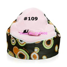 Retro balls with pink seat blue harness buckle top Leisure baby bean bag, kids sleeping topsell beanbag sofa seat