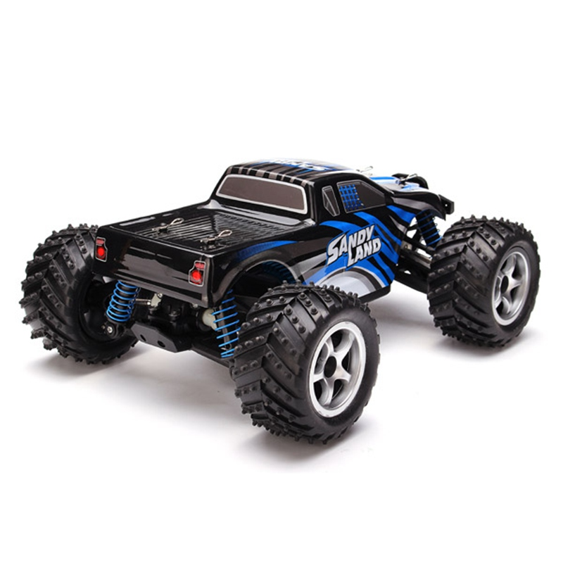 PXtoys 1/18 2.4G 4WD Sandy Land Monster Truck HJ209131 Remote Control RC Car Gift For Children Kids  children car model toy sandy land truck with light remote control dirt bike 9301 1 rc car 1 18 2 4g 2wdelectric racing car
