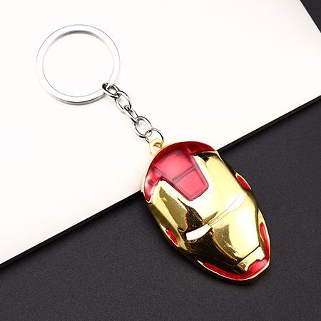 Металлический брелок Marvel, Мстители, Капитан Америка, щит, Человек-паук, Железный человек, маска, брелок, игрушки, Халк, Бэтмен, брелок, подарок, игрушки - Color: D-54