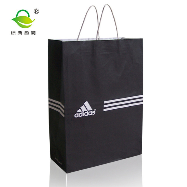 White Kraft Paper Bag Manufacturers Custom Garment Bag Clover Sports