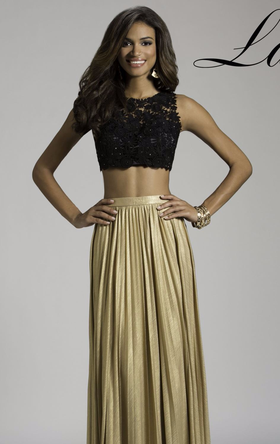 Straight Black and Gold Prom Dresses