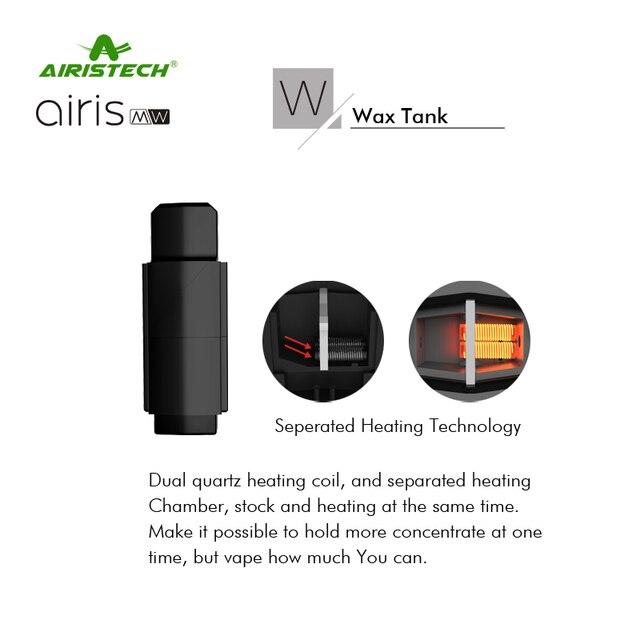 2018 Airistech Airis MW 2 in 1 Wax & Oil Vape Pen 350mAh Battery 3