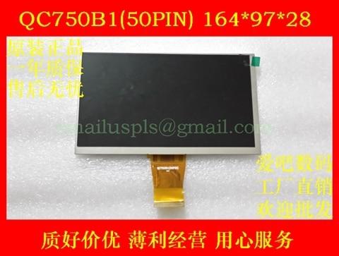 7 inch Tablet PC LCD internal display QC750B1 (50PIN) 164 * 97 * 28mm