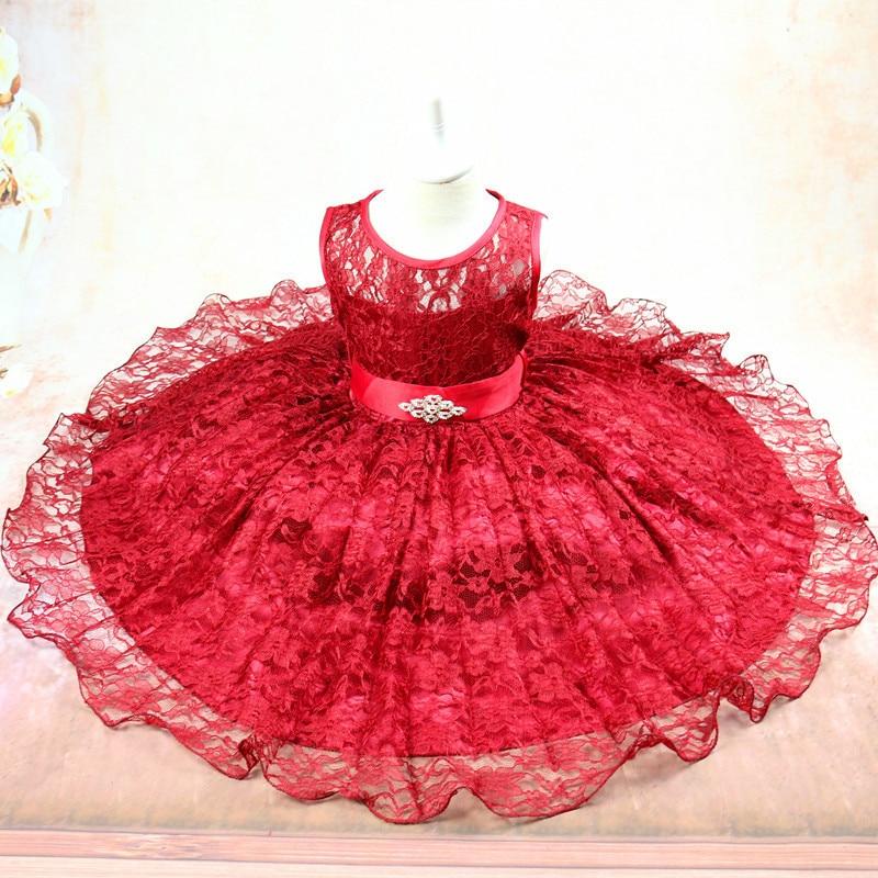 Módní stuha dívky Party šaty bez rukávů děti Teenager Prom - Dětské oblečení