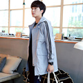Men's trench coats England man's Medium and long coat trench slim fit classic  luxurious trenchcoat