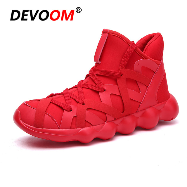 Summer Shoes Men Fashion Solid Red