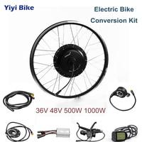 MXUS DC контроллер 36 В в В 48 в 500 Вт 1000 Вт бесщеточный мотор электрический велосипед конверсионный дюймов комплект 26 дюймов электрический автом