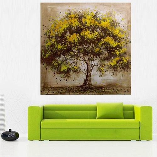 abstrakte baum malerei-kaufen billigabstrakte baum malerei partien ... - Moderne Kunst Wohnzimmer
