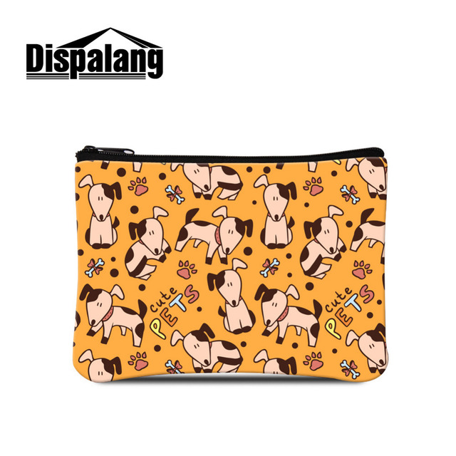 dispalang small animal coin purse women cute pet print coin pouch zipper ladies mini euro coin - Small Animal Pictures To Print