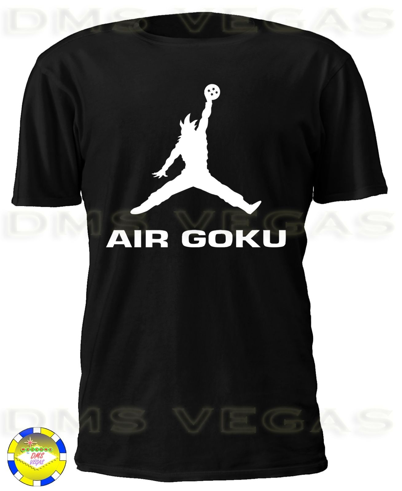 Dragon Ball Z Air Goku Parody Funny Humor Cool Tee Shirt Men Free shipping tshirt Harajuku Fashion Classic Unique T Shirt in T Shirts from Men 39 s Clothing