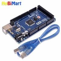 Mega 2560 R3 16AU Board USB Cable Compatible ATmega2560 16AU CH340G For Arduino D003
