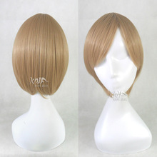 Hot sale Red Classics hair accessories 160g 28cm synthetic hair jewelry for Totsuka Tatara cosplay wigs