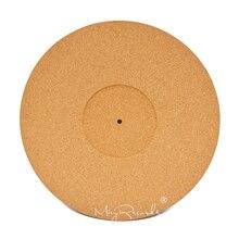 3MM korek LP mata antypoślizgowa 3mm antystatyczna zagęścić Slipmat dla 12 cal LP płyta winylowa