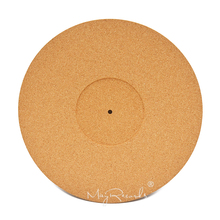 Cork LP Slip Mat 3mm Anti-Static Thicken Slipmat for 12 inch LP Vinyl Record high quality carbon fiber lp mat for turntables record