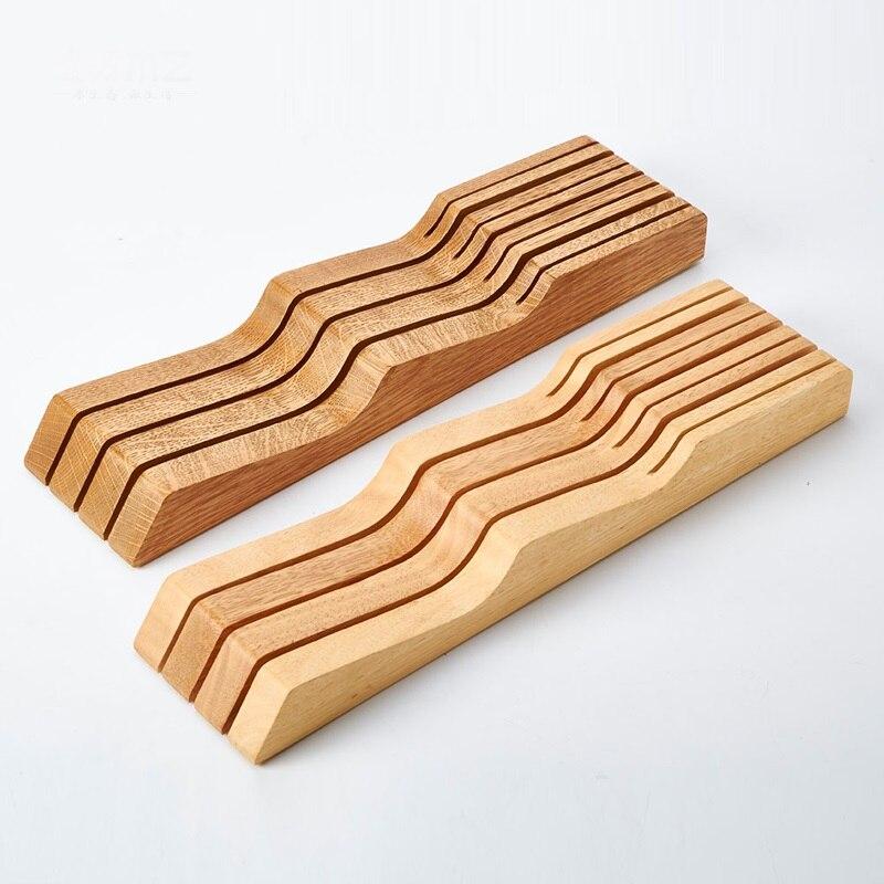 Moda Creativa Cuchillo De Bambu Madera Titular Cuchillo De - Bambu-seco