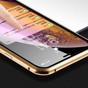 Image 3 - Suntaiho Magnetic สำหรับ iPhone XS Case XS MAX กระจกนิรภัยแบบ Dual การดูดซับแม่เหล็กสำหรับ iPhone 8 PLUS 7 XR ฝาครอบ