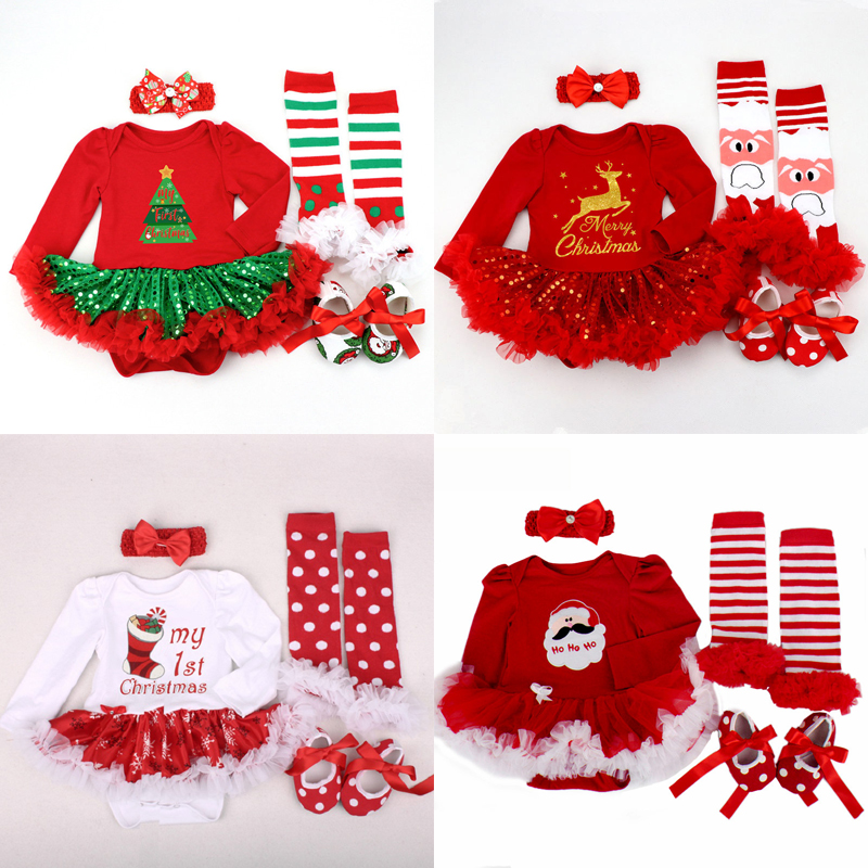 2019 Christmas Baby Costumes Romper Dress Santa Claus Cosplay Party Outfit Bebes Jumpsuit Newborn Baby Girls Innrech Market.com